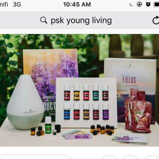 Young living PsK essential oils