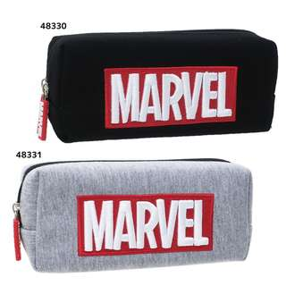 Marvel 筆袋 黑白兩色 日本直送 正品