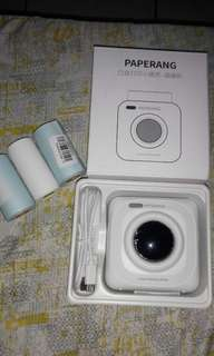 Paperang photo printer with protective case
