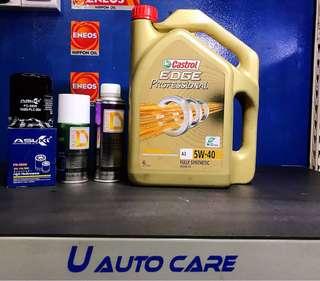 Car Servicing Special Promotion ( Castrol Edge)