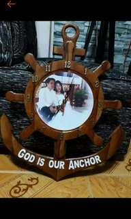 Anchor Clock with Picture