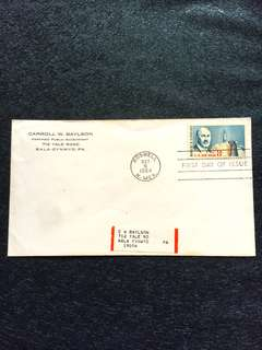 US 1964 8c Airmail Robert Goddard FDC stamp