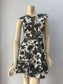 Love Black Floral dress