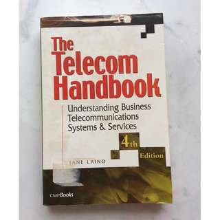 The Telecom Handbook by Jane Laino