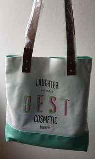 Benefit CanvasTote Bag