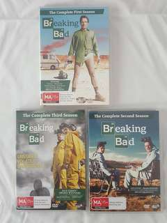 Breaking bad dvd's