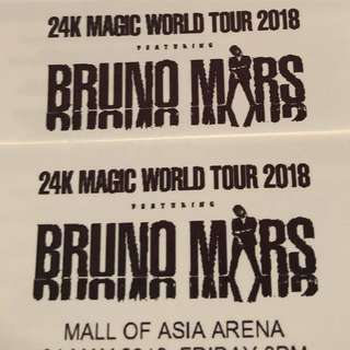 MAY 4 BRUNO MARS TICKETS