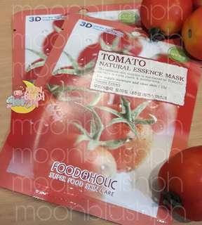 Foodaholic 3D Natural Essence Mask - Tomato