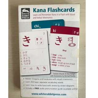 Kana Card for beginner - Japanese