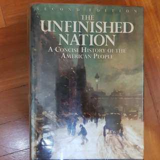 Unfinished nation (history military warfare book)