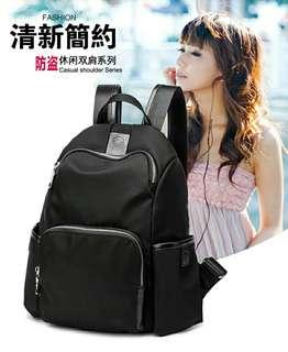 Fashion wild anti-theft waterproof backpack  (时尚百搭防盗防水双肩背包)