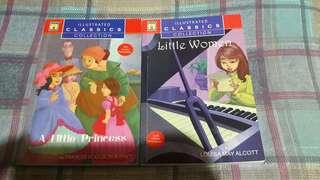 a Little Princess & Little Women