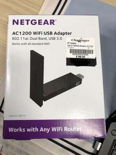 BNIB netgear wifi usb adapter