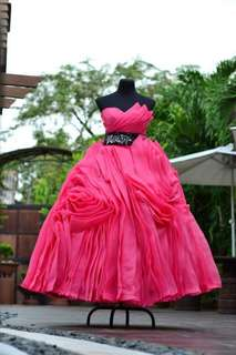 PINK GOWN 💕 (USED ONCE only)