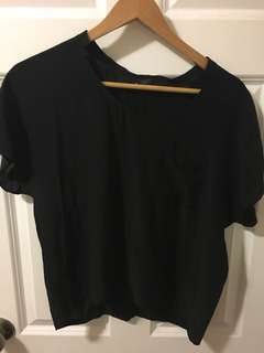 Club monaco silk top