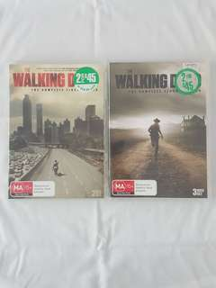 The walking dead dvd's