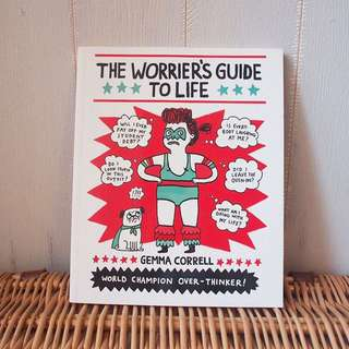 繪本書Gemma Correll The Worrier's Guide to Life英國