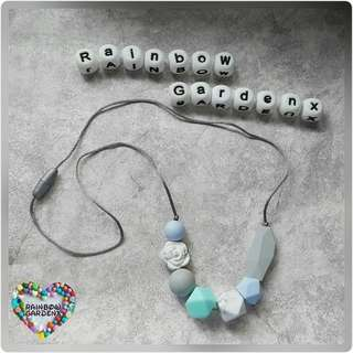 Teething Beads Necklace (7 beads)