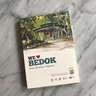 Bedok Urban sketchers drawing collection