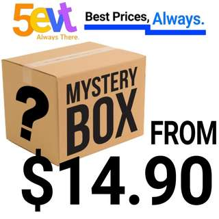 <NEW ITEMS> Mystery Box (Up till $58.90)