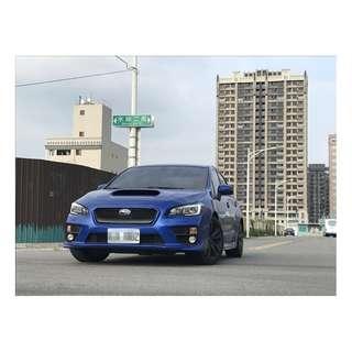 2015 稀有怪物 WRX 藍 2.0 渦輪