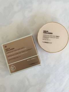 Gold Collagen Ampoule Two Way Pact (SPF 30)
