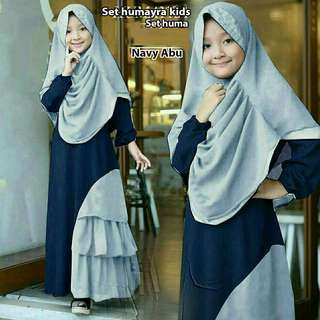 Humayra dress with hijab
