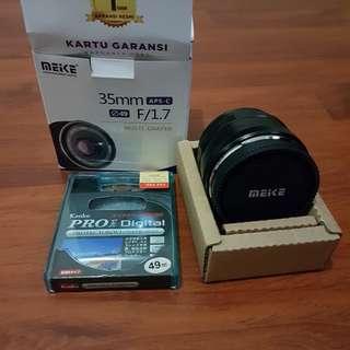 Lensa Meike for Fujifilm