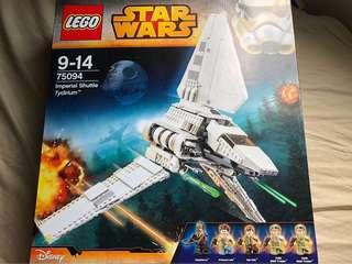 全新未開靚盒 Lego 75094 Imperial Shuttle Tydirium