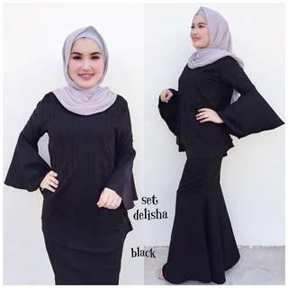 BAJU RAYA : Set Delisha