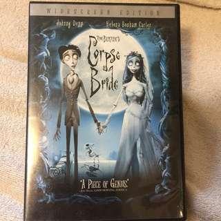 Corpse Bride 怪誕屍新娘DVD