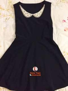 PRELOVED Little Black Pearl Dinner Dress