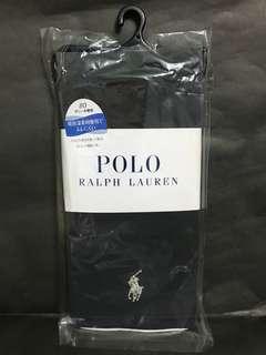 日本 Polo 銀色 logo 80針  黑色 10分 leggings