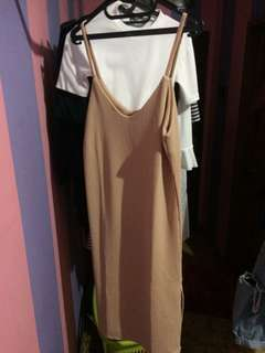 Slip Dress with Side Slit