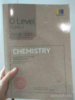 O Level Chemistry Ten Year Series