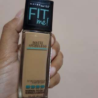 Jual rugi maybelline foundation fit me matte prolles shade 238 rich tan