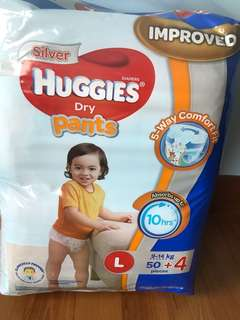 Huggies dry pants L 54