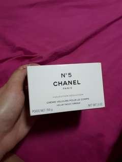Repriced!!! Chanel no 5 Velvet Body Creme