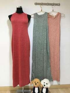 Light knitted homewear dress