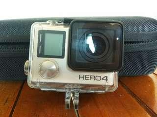 Gopro Hero4 Silver Edition lengkap