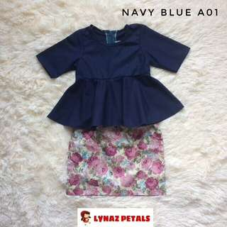 NEW COLORS: BABY PEPLUM+SKIRT