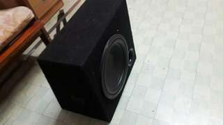 diamond woofer 10 inch with box