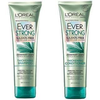 L'Oréal Paris EverStrong Thickening Shampoo + Conditioner