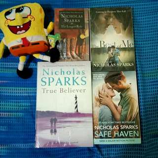 Nicholas Sparks Book Set for Sale