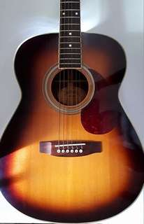 Acoustic Guitar Made in Japan