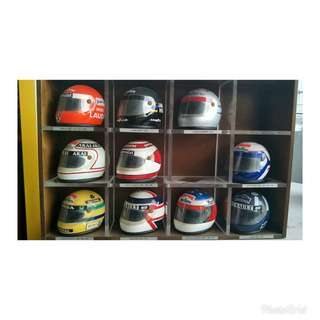 Mini F1 racing helmet
