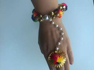 Indian Designer - Bracelet - ring