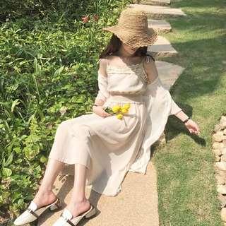 ♡ Pale Pink Summer Dress