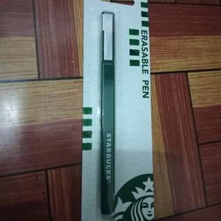 Starbucks- erasable pen