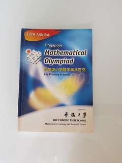 Singapore Math Olympiad for Primary Schools 2001 by Hwa Chong